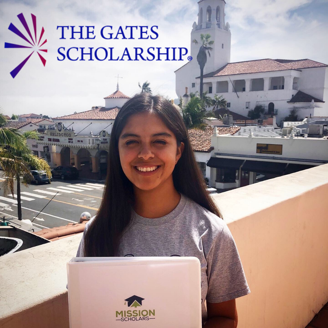 We have a Gates Scholar!